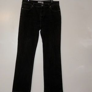 Chico's 1.5 x31.5 Jeans Black Platinum Quartz E492
